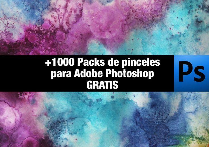+1000 paquetes de pinceles gratis para Photoshop