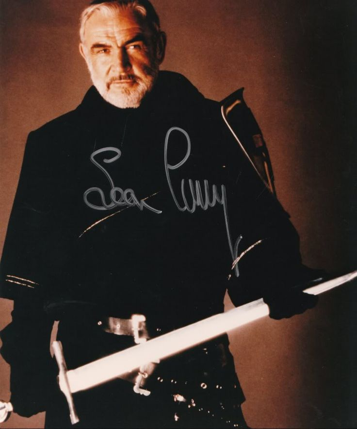 Sean Connery in first knight. A super actor. HE will always be James Bond to me!!!