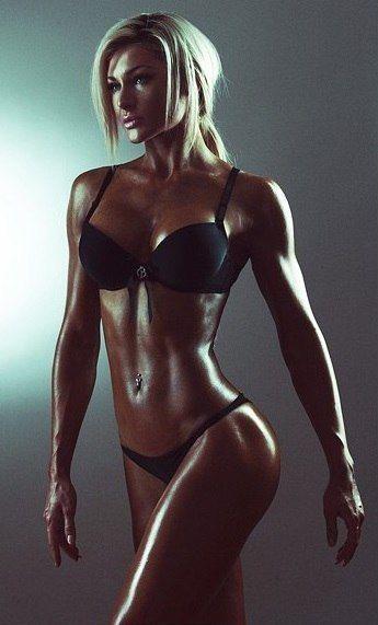 Oiled Up  Bikini Fitness Models, Bikini Workout -5028