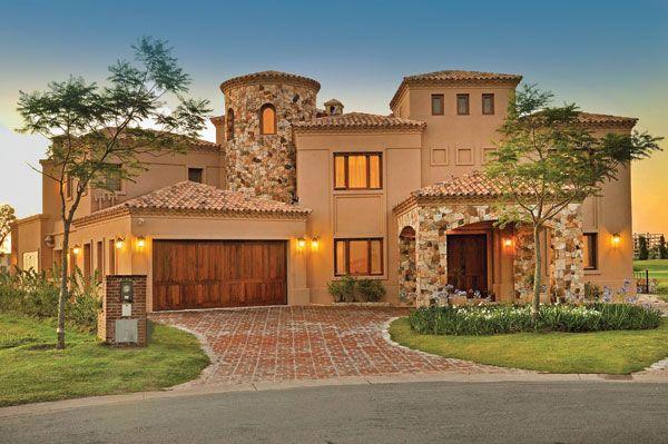Casas estilo toscana italiana buscar con google casas - Casas con estilo ...