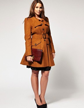 So apparently ASOS is an excellent plus size brand.  All of their clothing runs big, too, so I might want to order a size or two down.: Plussize, Curvy Girls Fashion, Asos Curves, Fall Coats, Plus Size, Fall Jackets, Flare Coats, Trench Coats, Winter Coats