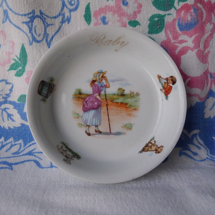 Vintage Baby Dishes 64