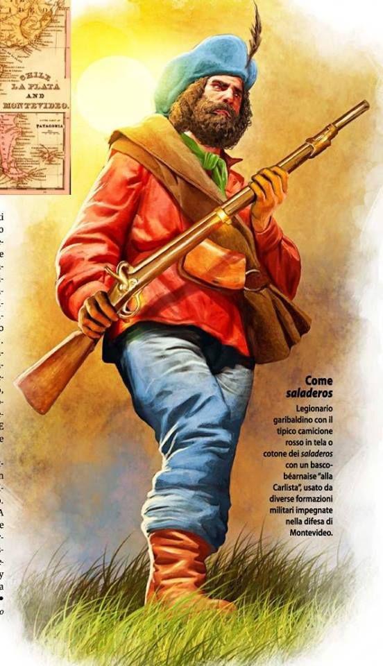 Legion Garibaldi in Montevideo