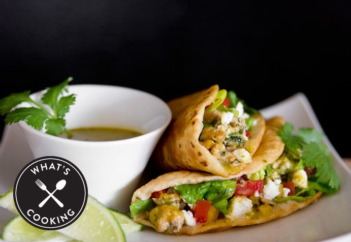 Cilantro Lime Chicken Tacos recipe from Nordstrom; photo by Jeff Powell.
