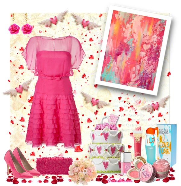 """""""A Valentino dress for Valentine's Day"""" by fiordiluna on Polyvore"""