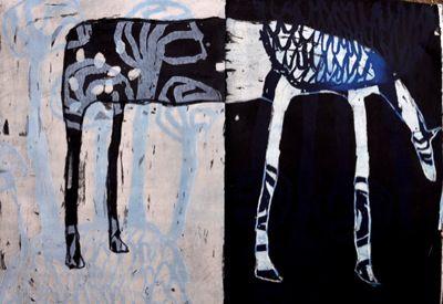 madeline goodwolf: Art Paintings, Unbridl Teacher, Madeline Goodwolf, Hors Art, Artists Inspiration, Tasmanian Artists, Artth Sequel, Paintings Animal, Contemporary Paintings