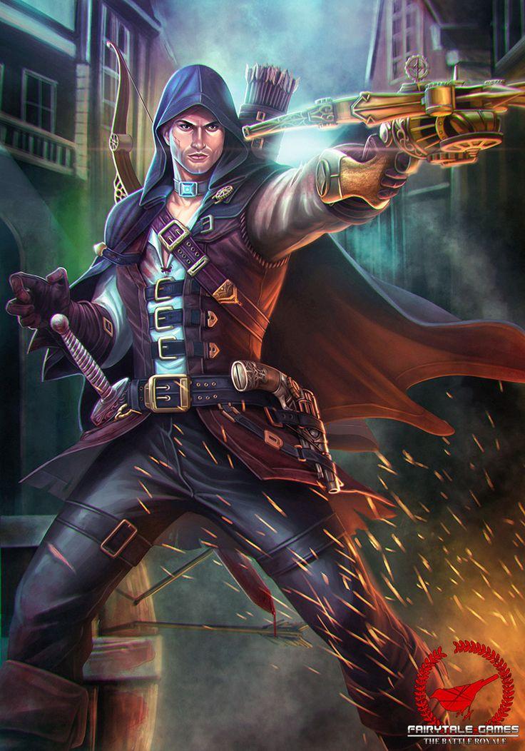 Locksley_Steampunk Robin Hood by Amos Rachman