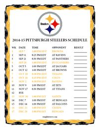pittsburgh steelers schedule 2014 printable | steelers download 2014 2015 pittsburgh steelers football schedule for ...