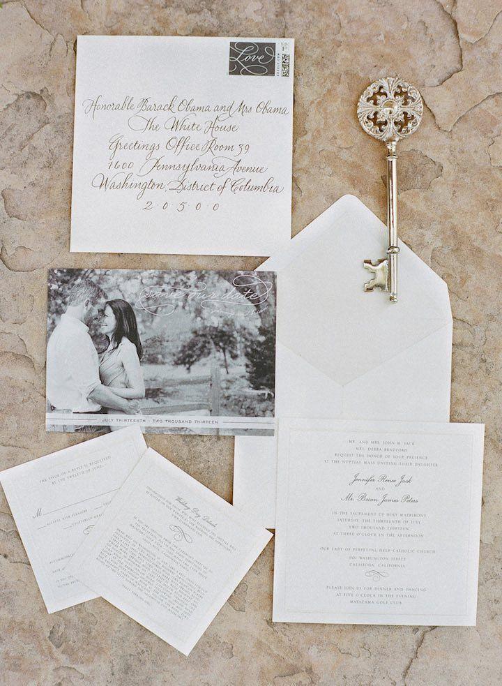 summer wedding invitation wording%0A Elegant Sonoma Wedding at Mayacama  Wedding Invitation WordingModern