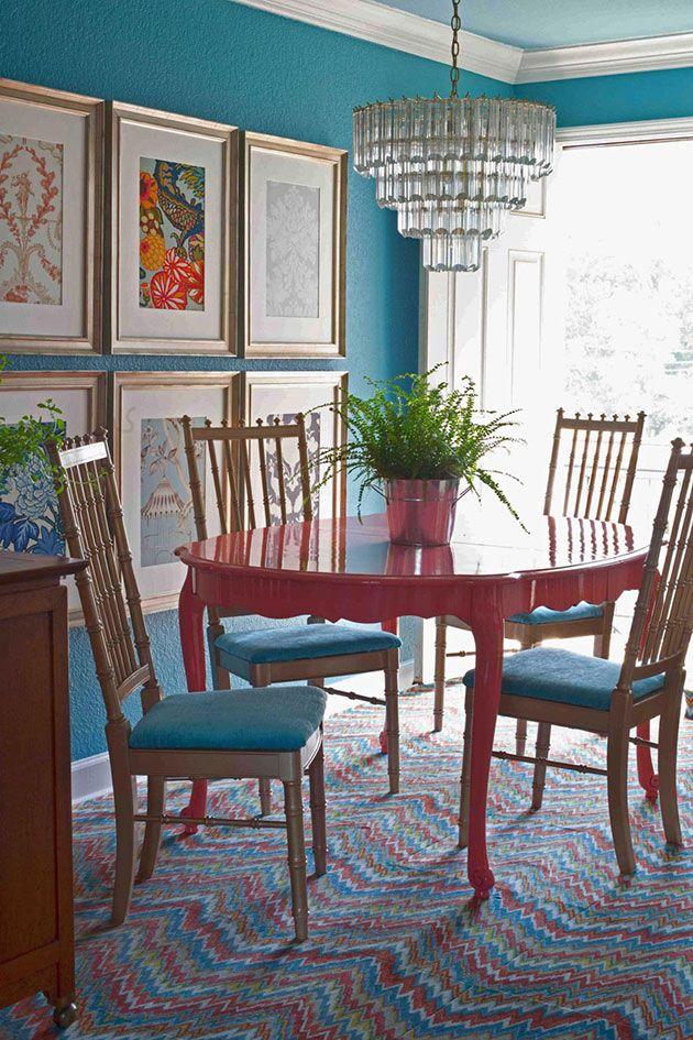 31 Bellos Colores Para Pintar Tu Comedor Decoracion De Interiores Decoracion De Comedores Pequenos Decoracion De Muebles