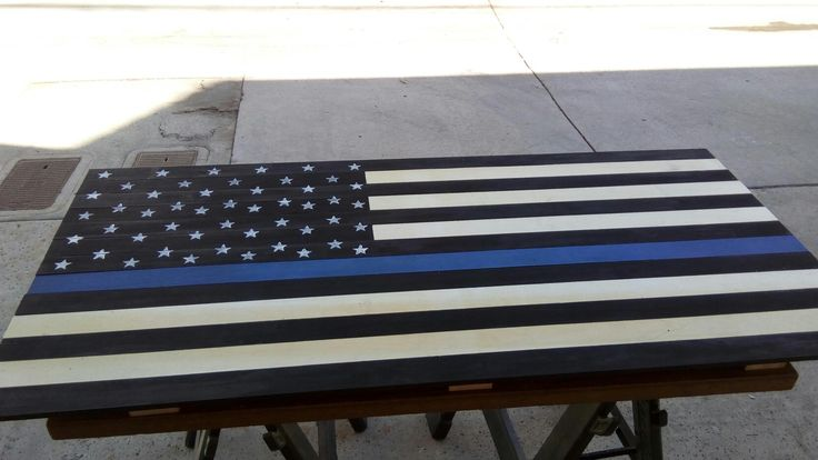 Police lives matter flag