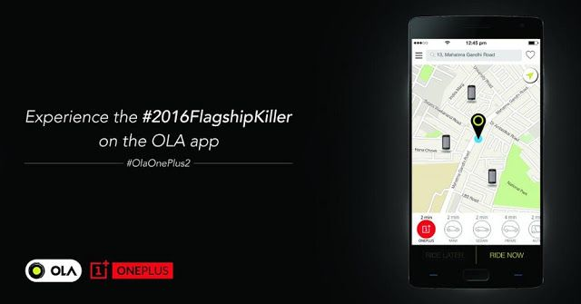 Brigadier Android : Try OnePlus 2 before buying with Ola cabs in India...