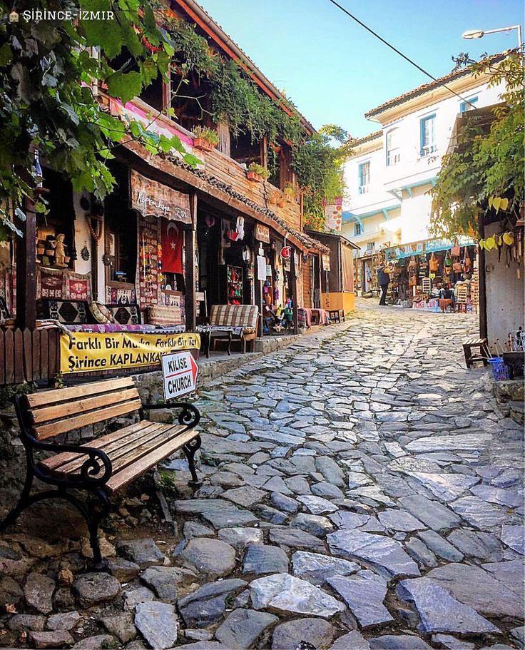 🏚老東西特別耐人尋味,這點在土耳其很多地方都能得到驗證@伊茲密爾的 #席林傑小山村。 ©harve