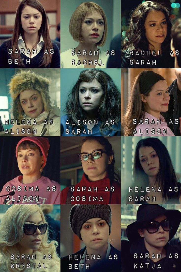 Orphan Black (BBCAmerica):  The Brilliant actress Tatiana Maslany plays erreybody! (Clone Club)