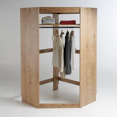 1000 id es sur le th me penderie d angle sur pinterest. Black Bedroom Furniture Sets. Home Design Ideas