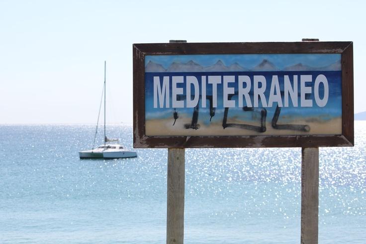 Tarifa Mediterranean sea side, Andalusia, Spain