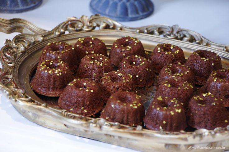 como fazer mini bolinhos, mini bundt cakes, receitas fáceis, festa infantil, bolo de chocolate, cupcake