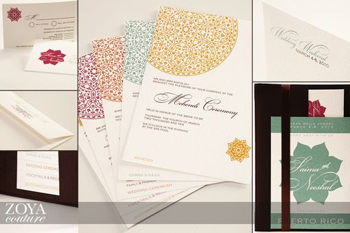 Love these invitations ... simple and elegant!