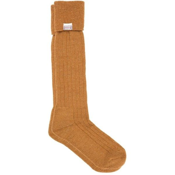 Alpaca Wool Socks ($49) ❤ liked on Polyvore featuring intimates, hosiery, socks, alpaca socks, alpaca wool socks, knee high hosiery, knee length socks and knee-high socks