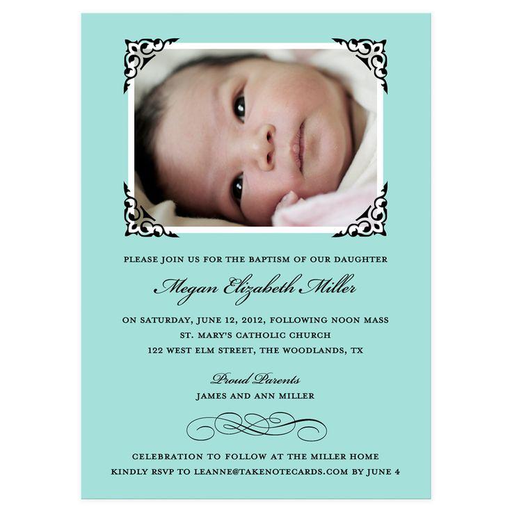 40 best invitations images on pinterest invitation wording sample of baptismal invitation stopboris Gallery
