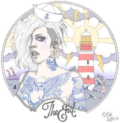 Tattoo Illustrations by Rik Lee   Cuded