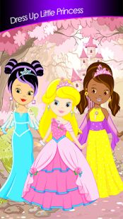 Every little girl dreams to become a princess, to wear luxurious dresses and to live in beautiful castle with amazing royal gardens. If you are one of them, download free Dress Up Little Princes Games app here https://play.google.com/store/apps/details?id=com.sparrowstudiogames.dressuplittleprincess  and experience your best fairy tale. This fantastic princess dress up game will take you to fantastic princess palace where you can meet our three beautiful little girls.