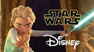 Star Wars Disney - Let it Flow - Let it Go Frozen Parody - YouTube
