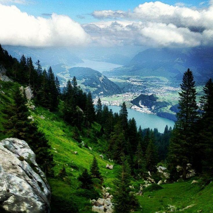 """Mt. Pilatus day trip from Zurich. This pictures makes me think nothing but """"The hills are aliiiiiiiiiiiiiive...."""""""
