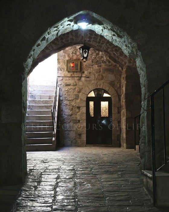 Lights in the dark - Old City of Jerusalem
