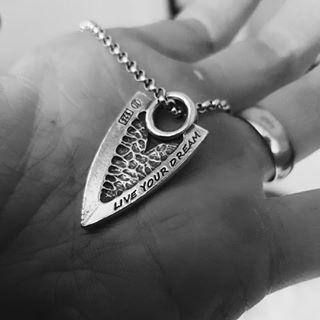 Kalevala Jewelry Kalevala Koru Live Hard Live Your Dream / Elämän roihu