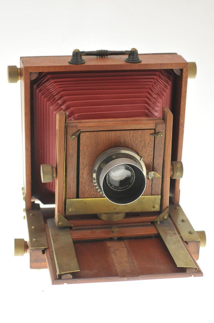 Home made Plate Camera 4 x 5 Inch with Carl Zeiss Lens | eBay