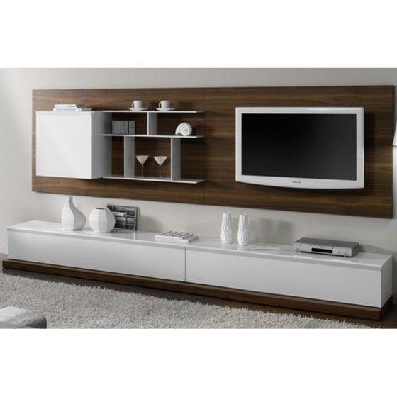 les 25 meilleures id es de la cat gorie meuble tv suspendu. Black Bedroom Furniture Sets. Home Design Ideas