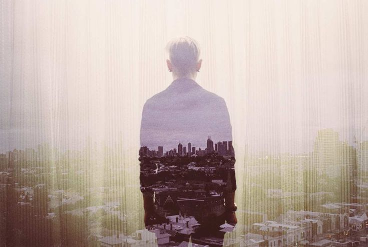35mm Double Exposure Photography by Louis Dazy #inspiration #photography