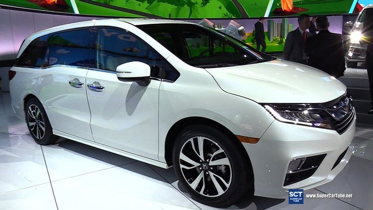 New 2018 Honda Odyssey Close Up - Exterior, Interior Walkaround - World ...
