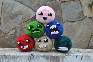 The Binding of Isaac Crochet Hacky Sacks