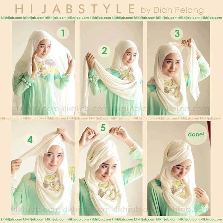 ... Hijab Tutorials, Tutorials Hijab, Tutorial Dian, Hijab Styles, Ala