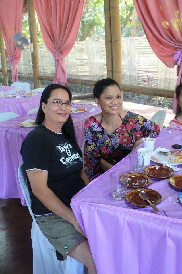 ME and my friend Rowena Closas, a registered nurse too.