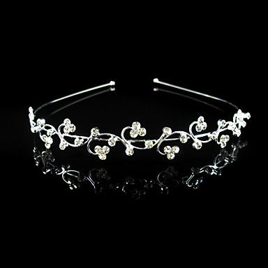 Gorgeous Clear Crystals Wedding Bridal Headband/ Headpiece – USD $ 14.99