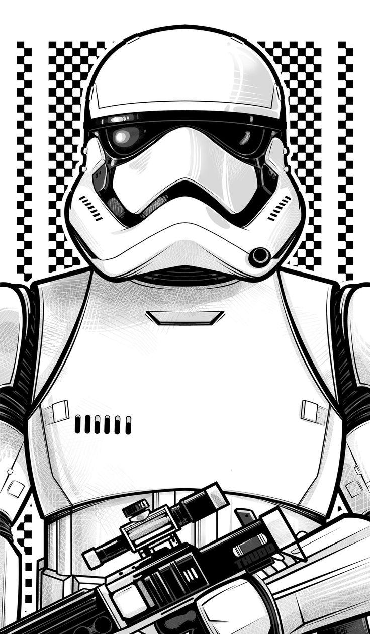 New Stormtrooper by Thuddleston.deviantart.com on @DeviantArt