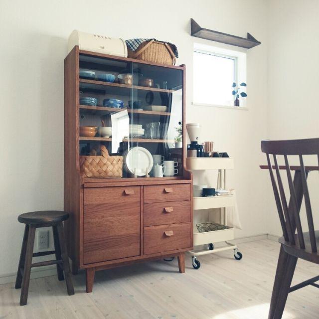 unico食器棚のインテリア実例写真