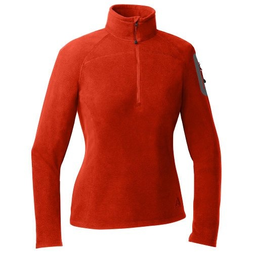 Eddie Bauer Cloud Layer® Fleece 1/4-Zip, Flame XS Regular.    List Price: $49.95  Buy New:$39.99  Deal by: AthleticClothingShop.com