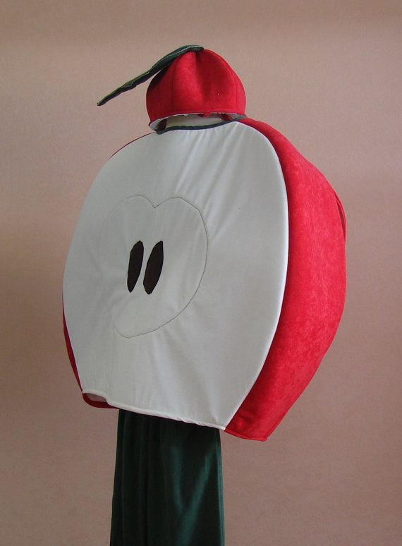 Apple costume for toddlers kids and adults by Sirenablu on Etsy