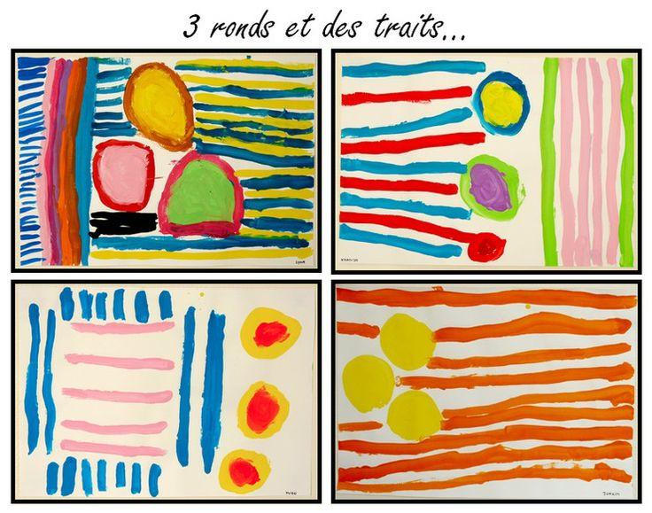 3 ronds et des traits http://lejournaldechrys.blogspot.fr/2013/04/3-ronds-et-des-traits.html