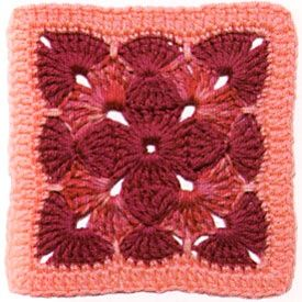 different kind of granny square.
