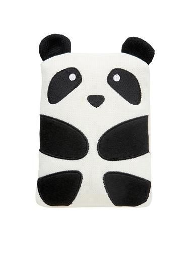 Fun animal Hotties. Safer alternative to a hot water bottle. Removable knit cover.