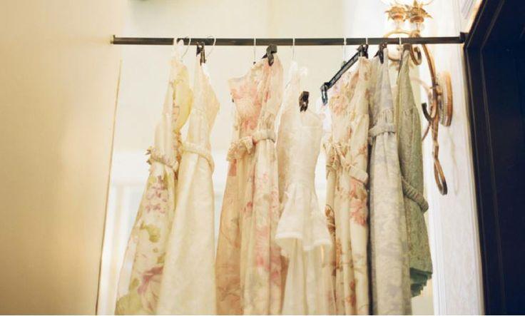 Floral bridesmaid dresses. #pretty #bridesmaiddress #bridesmaids #floral #pastel