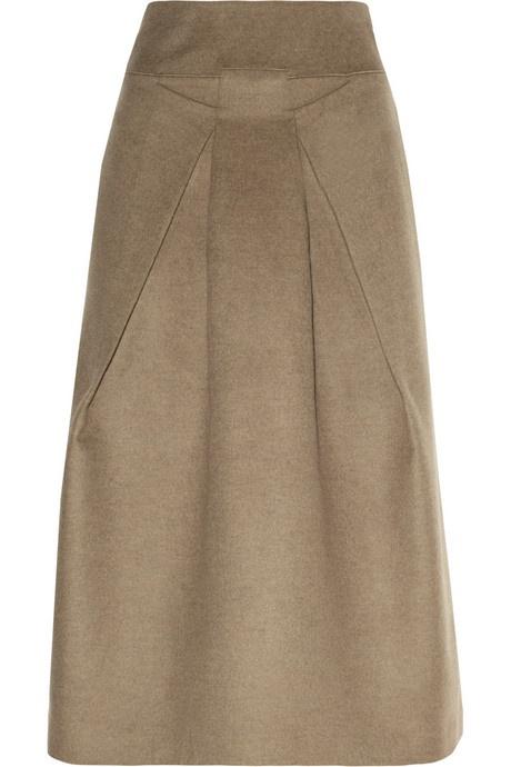 Roland Mouret Holmes wool-felt midi skirt