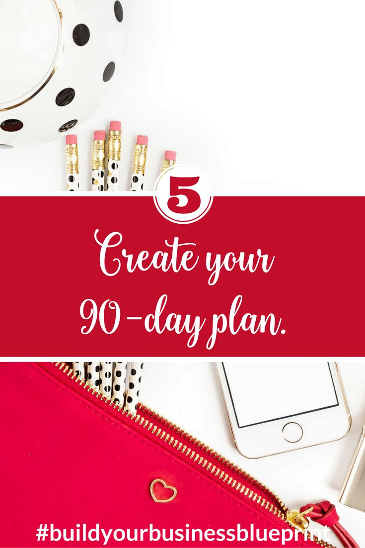 Have you created your 90-day plan?  It's not too late to join the Build Your Business Blueprint challenge!  Click through to see how.