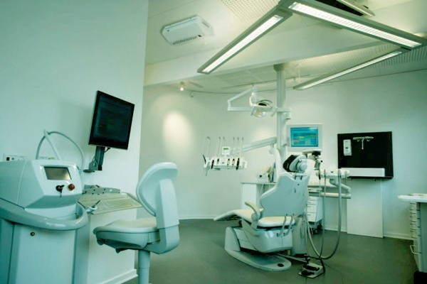Antifurto nebbiogeno in uno studio dentistico