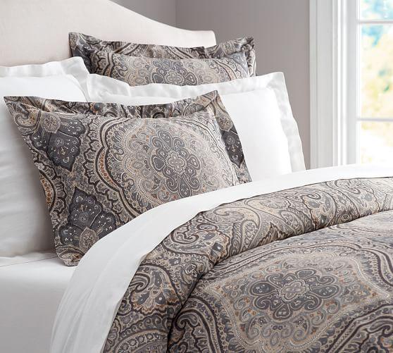 Beale Paisley Duvet Cover Sham Pottery Barn Bedroom Decor Pinterest Twin Master